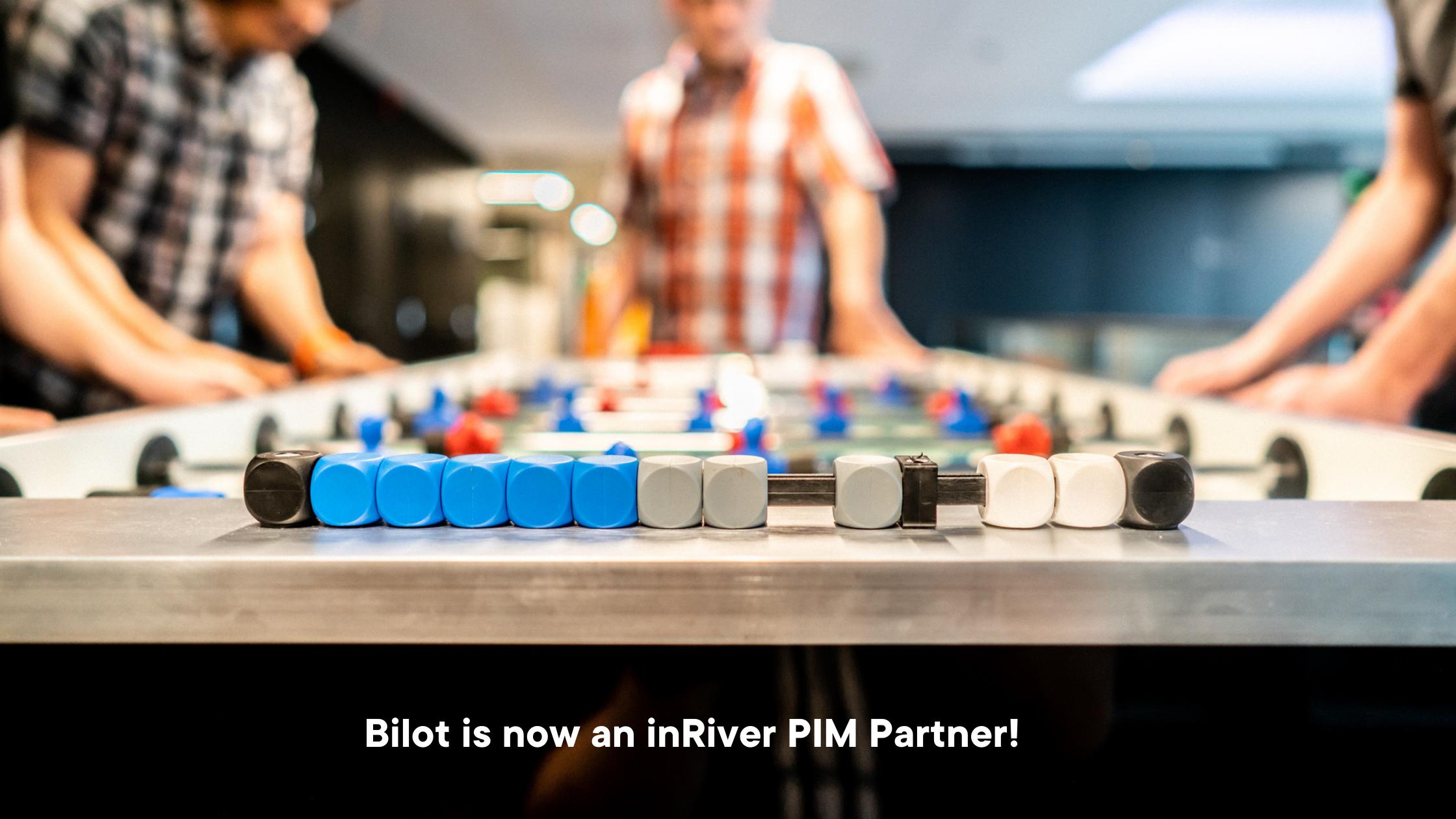 Bilot is now an inRiver PIM Partner!