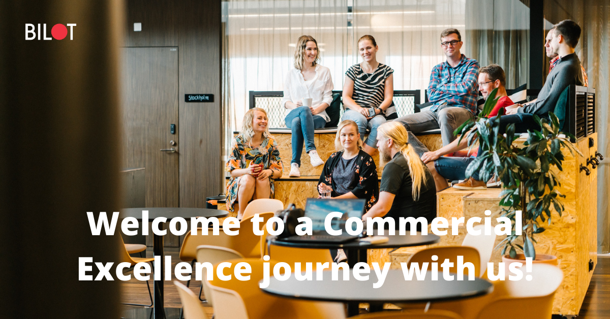 Welcome to a Commercial Excellence journey with us!